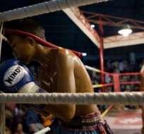 La muerte de un niño tras ser noqueado en el ring ha presionado a las autoridades de Indonesia. Foto: AFP