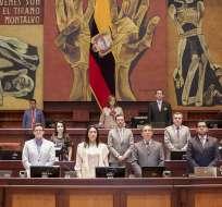 QUITO, Ecuador.- El órgano legislativo informó los puntos que tratará el próximo martes 20 de noviembre. Foto: Asamblea.