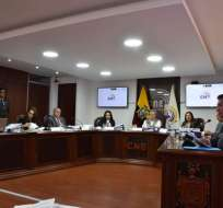 QUITO, Ecuador.- Este martes, serán posesionados los miembros del Consejo Nacional Electoral definitivo. Foto: API