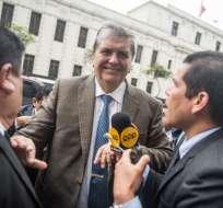 solicitó asilo después de que la justicia le prohibiera salir del país. Foto: AFP