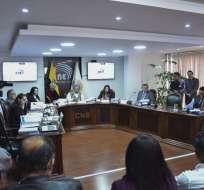 Miembros del Consejo Electoral definitivo serán posesionados el martes 19 de noviembre. Foto: API