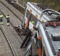 El siniestro dejó 133 personas afectadas. Foto: AFP