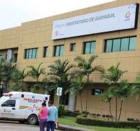 Primera reunión para el traspaso de hospital a Universidad de Guayaquil. Foto: Archivo - Referencial