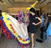 La imbabureña es la primera afrodescendiente en coronarse Miss Mundo Ecuador.