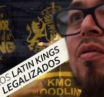 Cómo los Latin Kings se convirtieron en una organización legal en Ecuador.