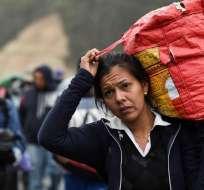 Reunión sobre migración venezolana se realiza en Quito. Foto: AFP - Referencial