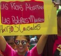En julio de 2018 hubo una maracha a favor de la despenalización del aborto al menos bajo tres causales.