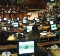 La Asamblea votará el martes la proforma. Foto: API