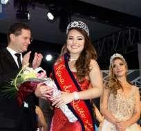 QUITO, Ecuador.- Almeida sustituye a Ana Carolina Carvajal como soberana de la ciudad capital. Foto: API
