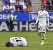 EIBAR, España.- Gareth Bale y Luka Modric jugaron como titulares en este cotejo. Foto: AFP