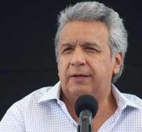 El mandatario continúa evaluando su gabinete. Foto: Presidencia Ecuador