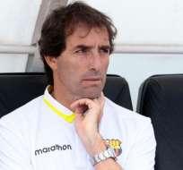 El entrenador 'torero' admitió sus ganas de continuar en el equipo.