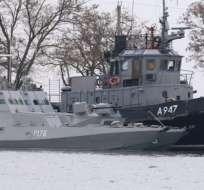 Este domingo, las fuerzas armadas de ambos países se enfrentaron por primera vez de forma directa en el mar.
