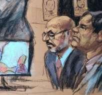 Un testigo del juicio contó una anécdota sobre un accidente de avión que sufrió Guzmán.