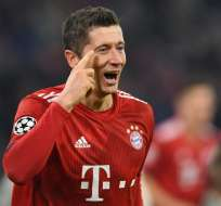 El Bayern Munich goleó 5-1 al Benfica. Foto: Christof STACHE / AFP
