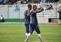 La 'Chatoleí' superó 2-1 al elenco ambateño en el estadio Bellavista. Foto: API
