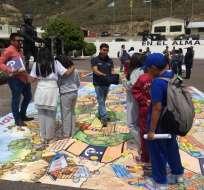 QUITO, Ecuador.- Suspenden clases en Quito para precautelar la seguridad de los estudiantes. Foto: Ministerio de Educación.