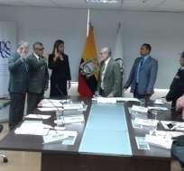 QUITO, Ecuador.- El Consejo de Participación transitorio abre el concurso para integrar el TCE definitivo. Foto: Twitter