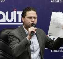 Alcalde de Quito lo plantea tras suspensión de paro anunciado por taxistas. Foto: API