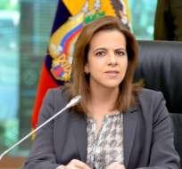 Vicuña debe pedir licencia, según ministra de Interior. Foto: Twitter Ministerio del Interior