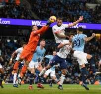MANCHESTER, Reino Unido.- El City lidera la tabla de posiciones de la Premier League. Foto: AFP