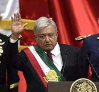 México inicia histórica alternancia con izquierdista López Obrador. Foto: AFP