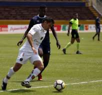 La 'chatoleí' perdió 2-1 en los últimos seis minutos del partido.. Foto: API