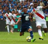 Los 'azules' empataron 0-0 con Liga de Quito en el estadio George Capwell. Foto: API