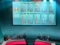 El sorteo de los grupos se hizo en Dublín, Irlanda. Foto: Paul FAITH / AFP