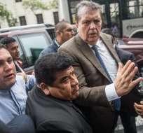 Uruguay le negó el pedido de asilo al expresidente García. Foto: AFP