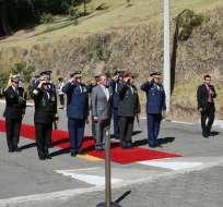 General de división Roque Moreira es el nuevo jefe del Comando Conjunto de las FFAA. Foto referencial / Min. Defensa