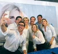 Expresentadores de televisión encabezan la lista de aspirantes a ese distrito en Guayaquil. Foto: Twitter Nebot