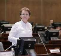 Fiscalía pide audiencia de formulación de cargos contra Norma Vallejo.