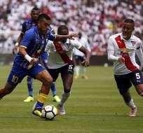 El equipo 'cetáceo' empató con Liga de Quito en condición de visitante. Foto: API