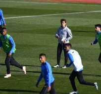 El Tribunal de Arbitraje Deportivo negó la petición de los 'xeneixes' de ganar el partido. GABRIEL BOUYS / AFP
