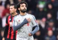 El delantero egipcio es uno de los goleadores de la Premier League. Foto: GLYN KIRK / AFP