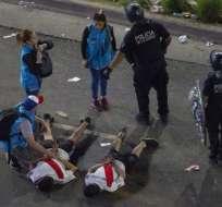 BUENOS AIRES, Argentina.- Los incidentes violentos iniciaron a partir de la medianoche. Foto: AFP