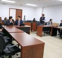 QUITO, Ecuador.- Jueza aceptó reformulación de cargos en el proceso penal abierto contra dos exmilitares. Foto: Fiscalía.