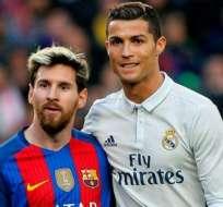 Messi es parte de la Primera División del Barça desde el 2008, mientras que CR7 jugó por 9 años en el Real Madrid. Foto: AFP