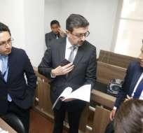 ECUADOR.- Procurador Íñigo Salvador se refirió a presunto pedido de extradicción de Julian Assange. Foto: API