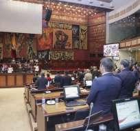 QUITO, Ecuador.- Según la presidenta de la Asamblea, el proyecto no recoge todos los temas planteados. Foto: Asamblea