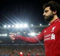 Salah fue el autor del gol que le dio la clasificación a los octavos de final de la Liga de Campeones.