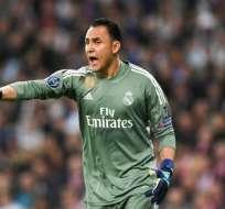 Desde que Solari se hizo cargo del Real Madrid, el costarricense sólo ha disputado dos partidos de Copa del Rey. Foto: AFP