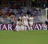 El equipo japonés superó 3-2 al mexicano y jugará ante el Real Madrid. Foto: Giuseppe CACACE / AFP