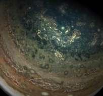 Impresionantes imágenes de Júpiter tomadas por Juno de la NASA