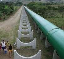 ECUADOR.- Los recursos iban para el proyecto multipropósito Baba y el sistema Carrizal-Chone (foto).