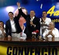 Con ellos son casi 770 los candidatos inscritos en Guayas. Foto: Captura Ecuavisa.
