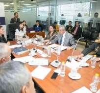 Así lo dio a conocer el presidente de la Judicatura, Marcelo Merlo. Foto: Comisión de Soberanía