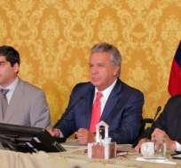 Presidente Lenín Moreno justifica medida económicas. Foto: Presidencia Ecuador