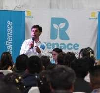 CUENCA, Ecuador.- El campeón olímpico se registró en el CNE Azuay por el movimiento Renace. Foto: Twitter